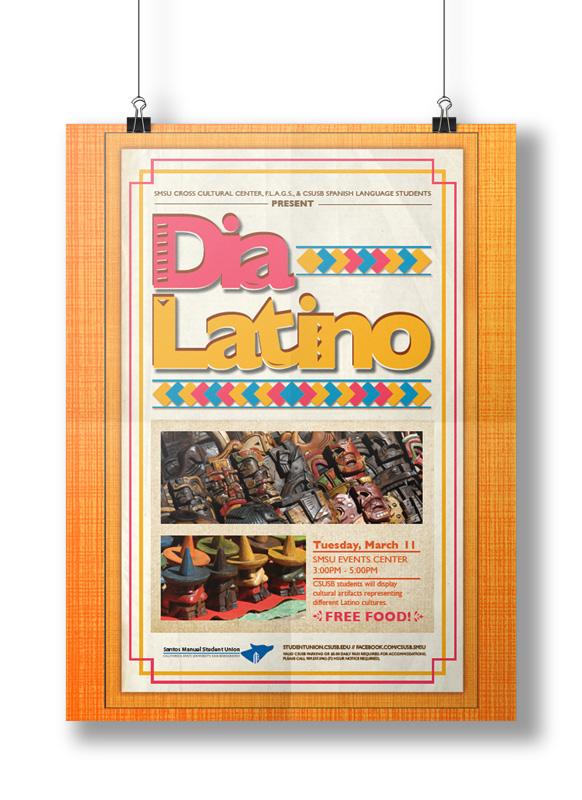 SMSU Dia Latino Poster
