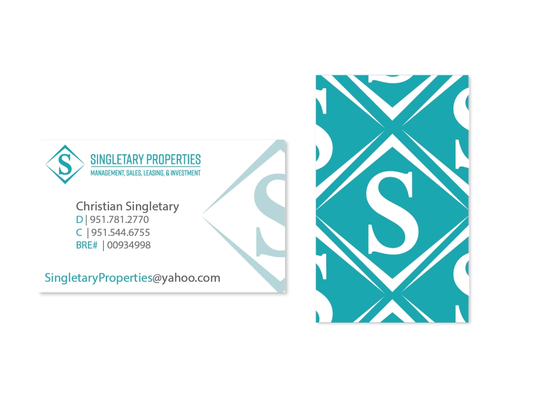 Singletary Business Cards